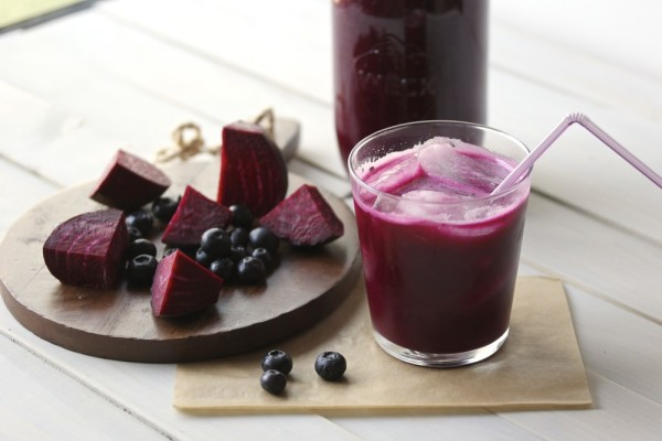 Beetroot And Berry Shots Recipe