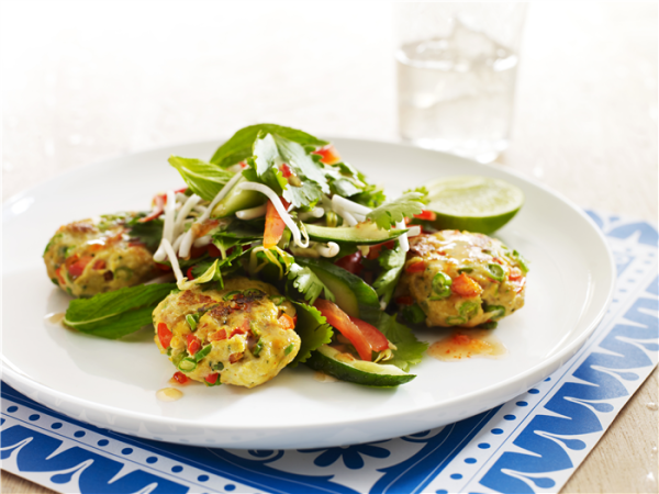 Fish Cake Salad Recipe