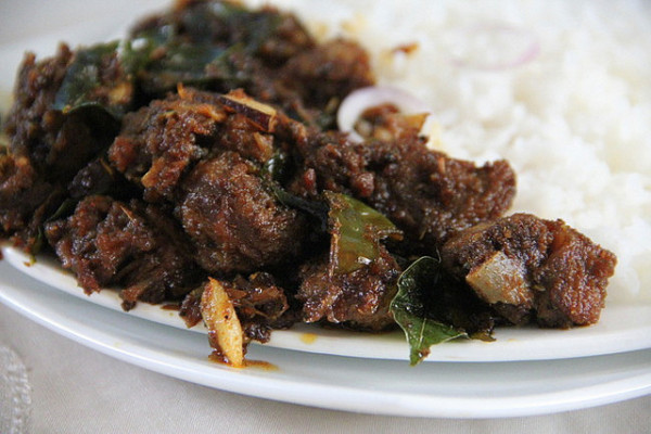 Kerala Style Mutton Chilli Fry Recipe