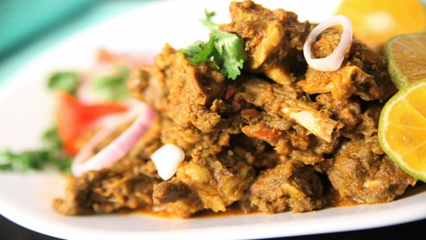 Kolhapuri Sukha Mutton Recipe