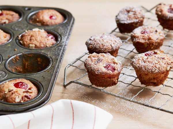 Miniature Cherry Muffins Recipe