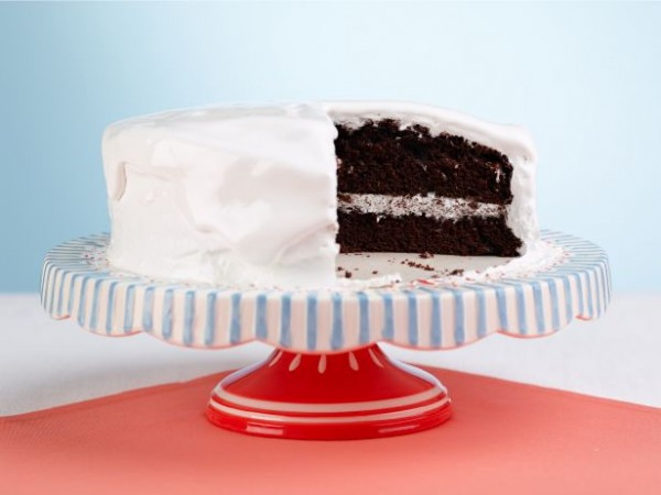 Chocolate Cake with Divinity Icing Recipe