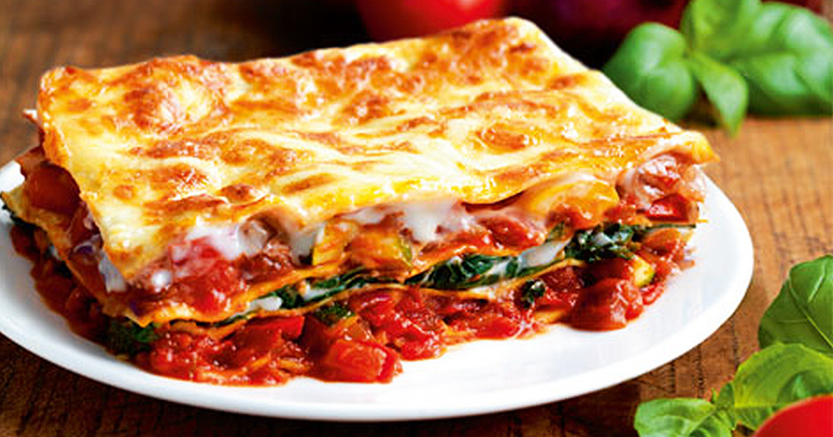 Tri Color Lasagna Recipe