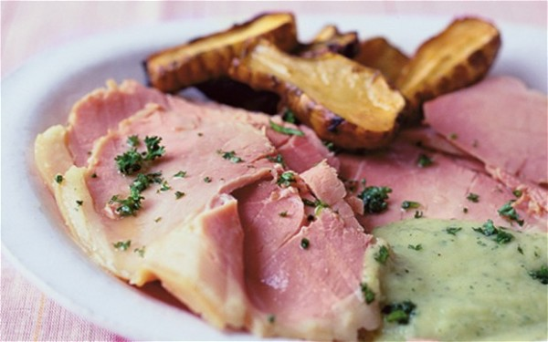 Boiled Ham Parsley Sauce Recipe