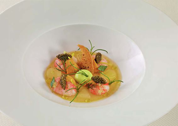 Langoustine And Uni Chaud-Froid Recipe