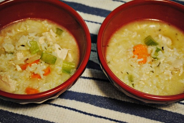 Rainy Day Chicken And Rice Soup Recipe