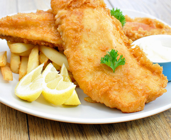 Grilled Fish 'n' Chips Recipe