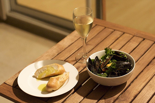 Grilled Mussels Barbecue Recipe