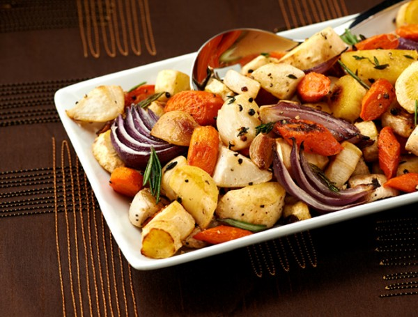Herb-Roasted Root Vegetables Recipe