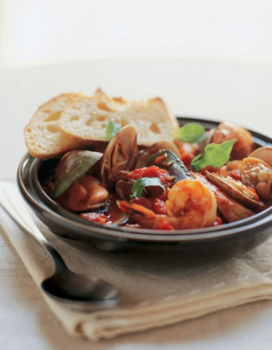 Mussels, Clams And Shrimp Recipe