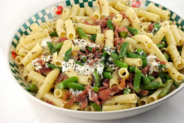 Ziti with Asparagus Recipe