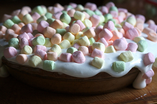 'Waitress' Marshmallow Mermaid Pie Recipe