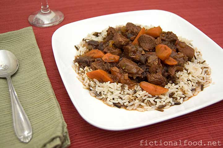 The Hunger Games Lamb Stew Recipe