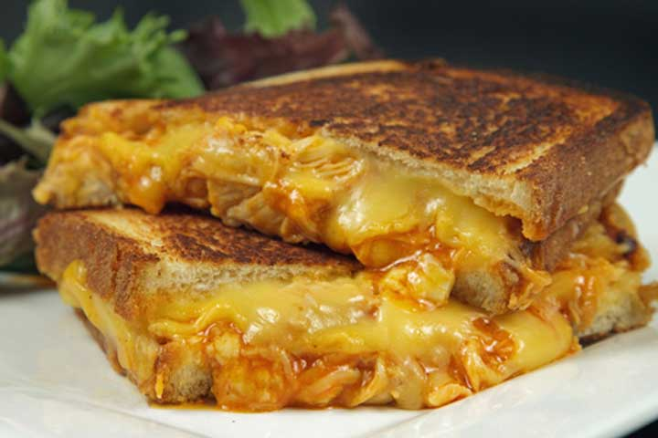 'Chef' Grilled Cheese Sandwich Recipe