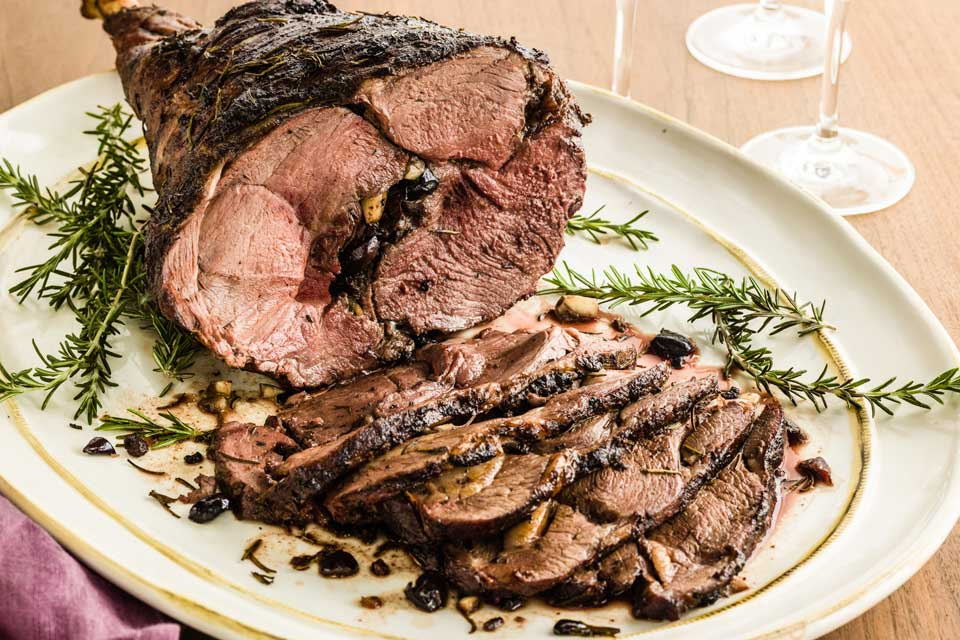 The Twentieth Wife Roasted Leg Of Lamb With Rosemary And Garlic Recipe