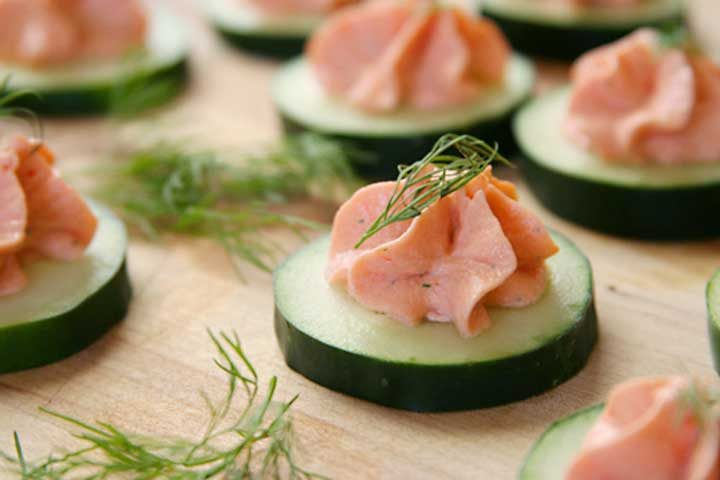 FRIENDS Monica's Salmon Mousse Recipe