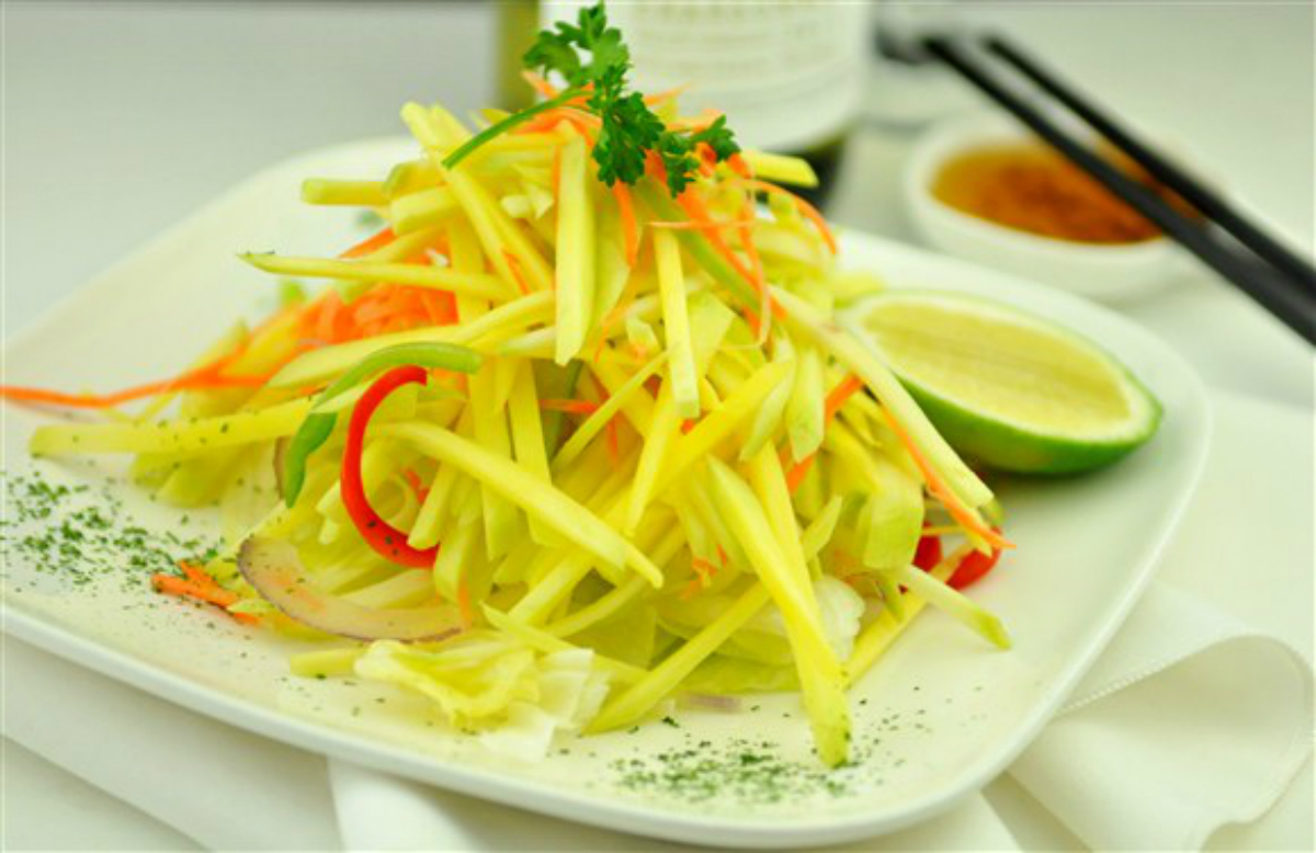 Raw Mango Salad Recipe