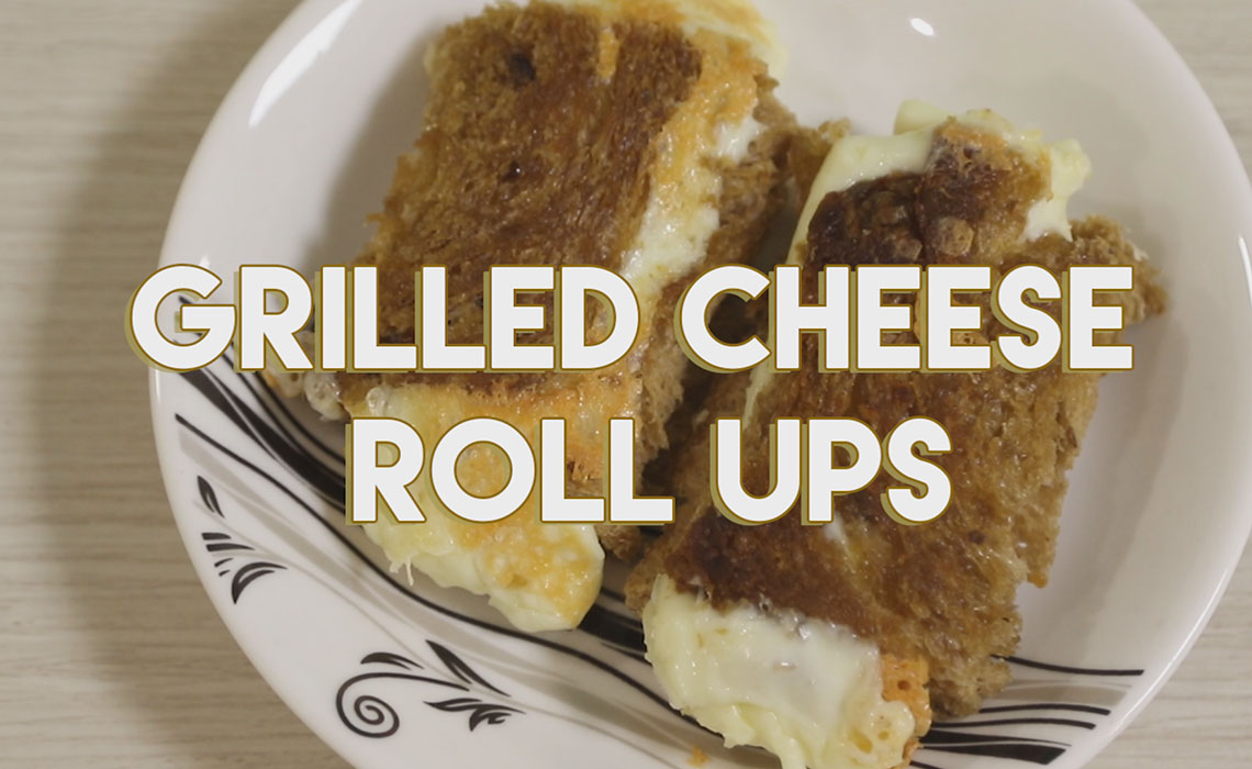 Grilled Cheese Roll Ups Recipe