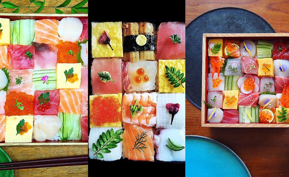 Mosaic Sushi Is The New & Beautiful New Food Trend Photo