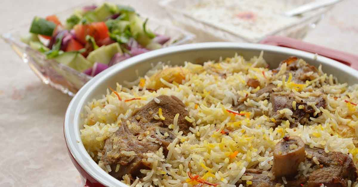 Bakri Id Mutton Biryani Recipe
