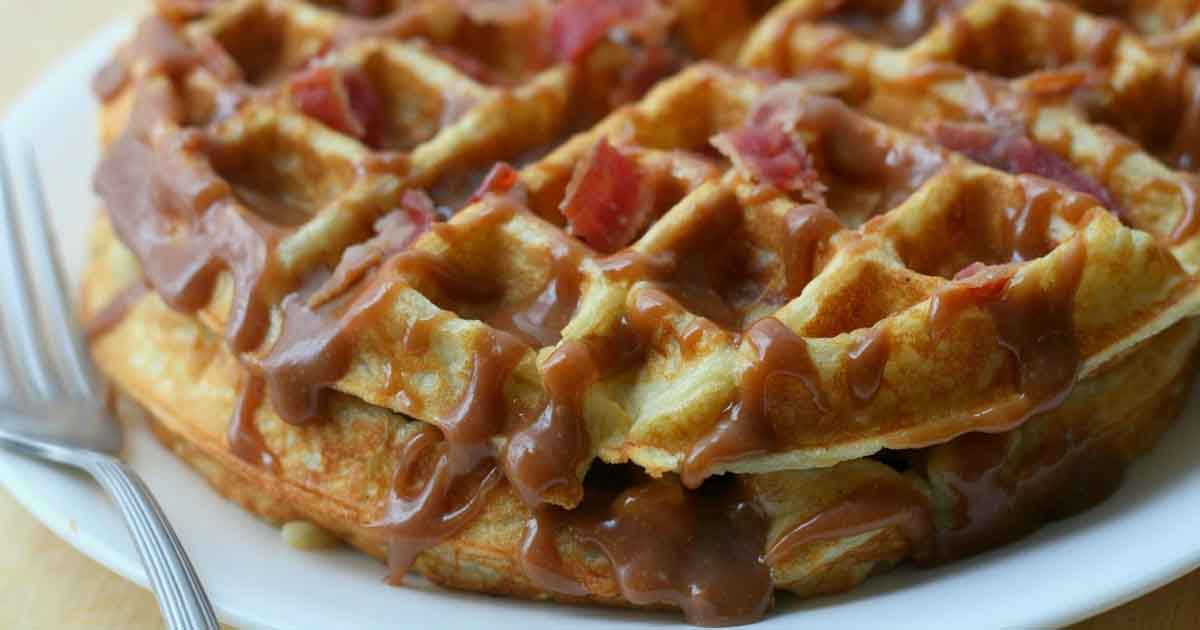 Emmys Peanut Butter And Jelly Waffles Recipe