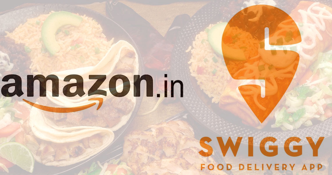 Amazon India Looking To Invest In Swiggy In Hopes To Enter The Online Food Delivery Market Photo