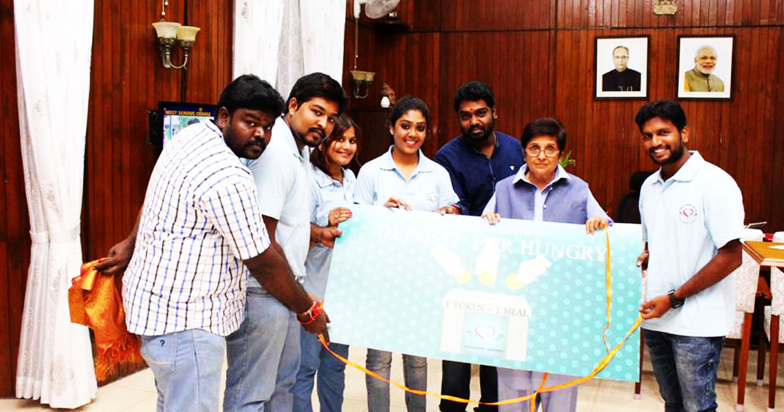 Food Bank Chennai Issues Food Tokens To Feed The Hungry in Chennai Photo 2