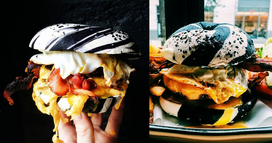 Goth Is The New Rainbow In The Latest Food Trend Taking Over New York City Photo