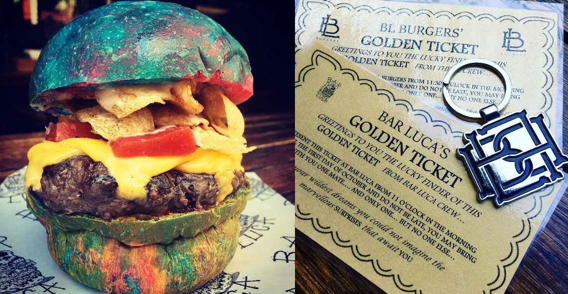 A Restaurant In Australia Has Released a Special Rainbow Burger to Honour Gene Wilder Photo