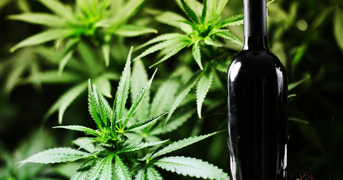 There Was Blue Wine, Now There Is Green Wine Made Out of Weed