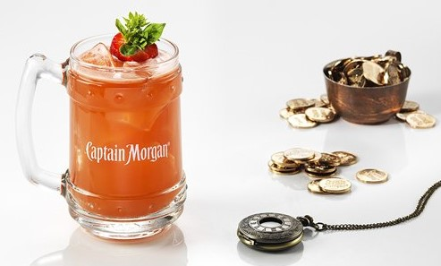 Make Your Own Captain Morgan Rum, Fruit and Spice Concotion