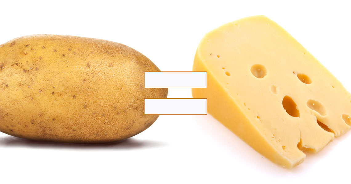 An Australian Company Has Found A Way To Transform Old Potatoes Into Cheese Photo 1