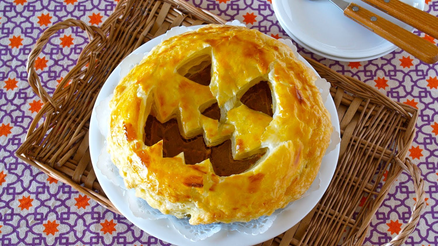 The Perfect Pie For Your Halloween Party