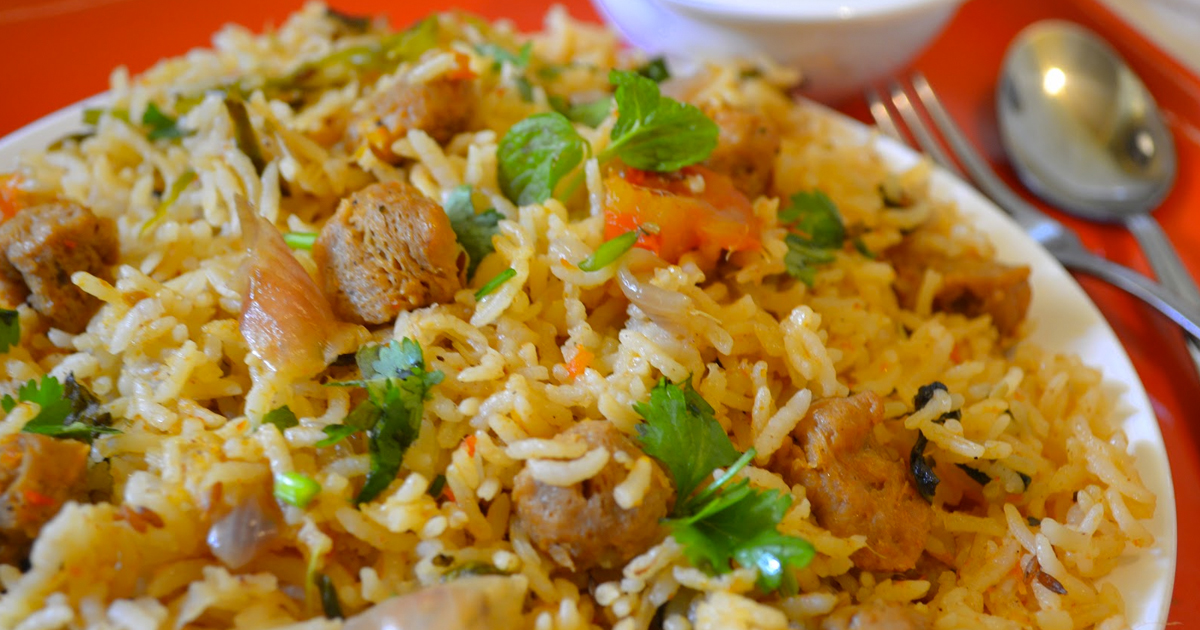 soya-chunks-pulao-recipe