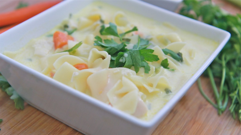 Creamy Chicken Soup Recipe