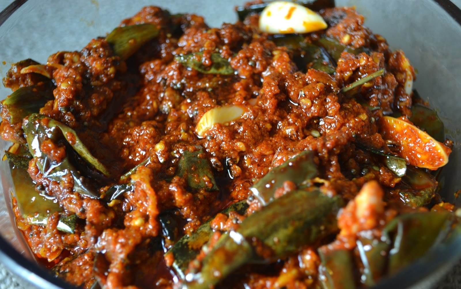 Brinjal pickle Recipe