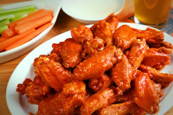 Super Bowl Sunday Buffalo Wings Recipe