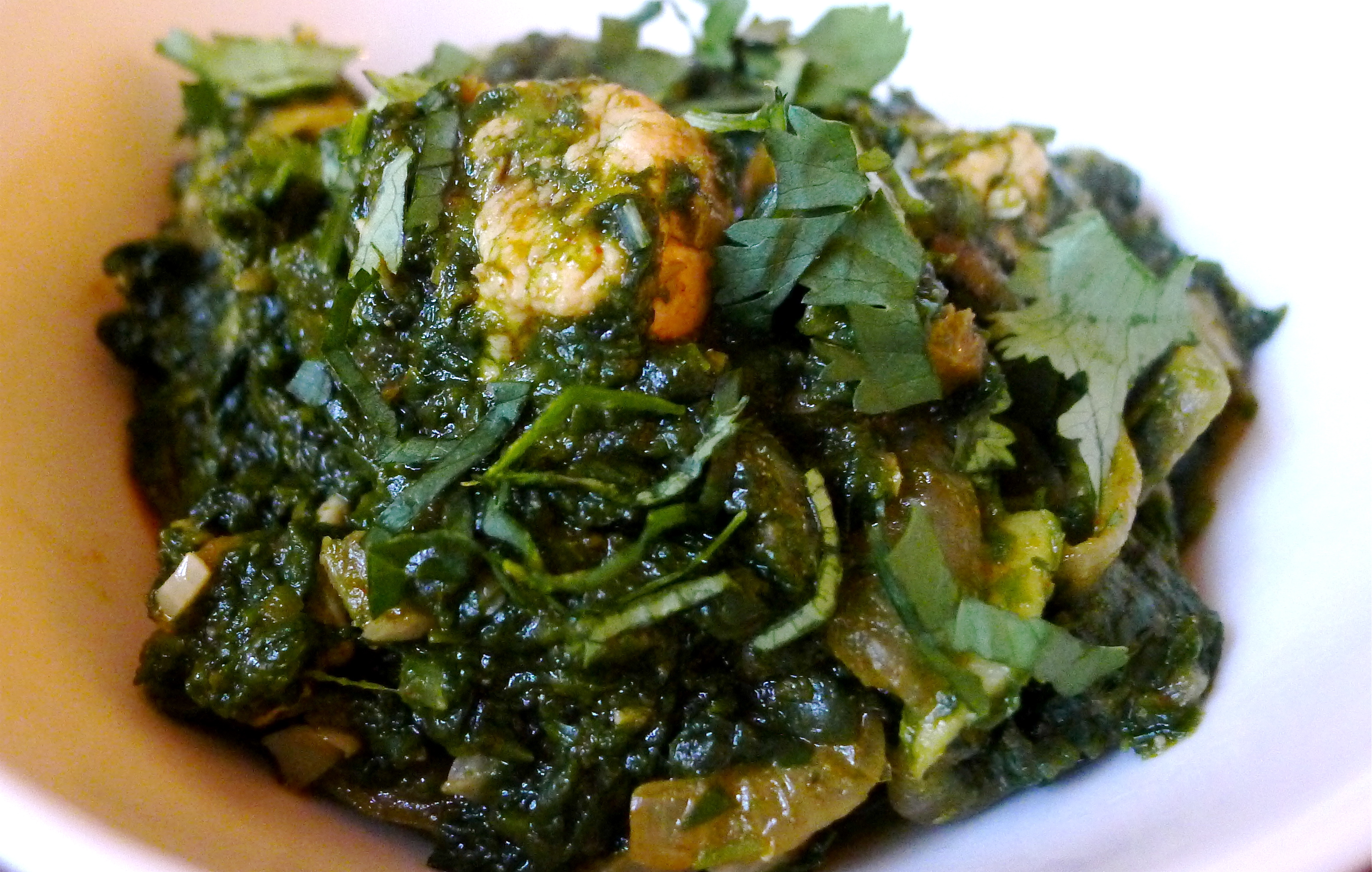 Saag-Chicken-Recipe