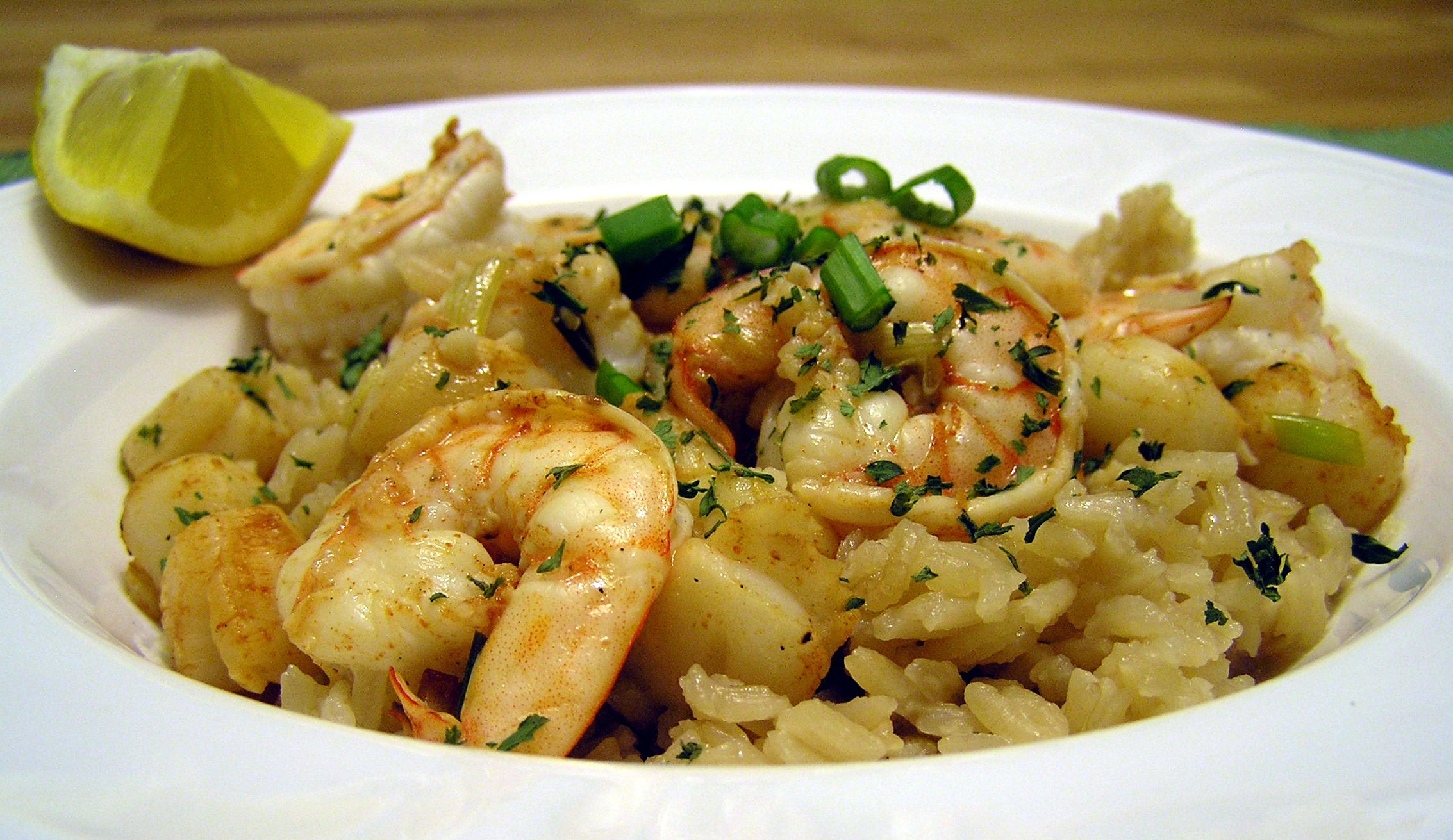 shrimp-scampi-over-rice-recipe