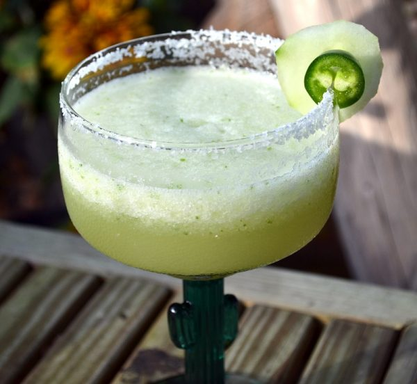 Do Something New With This Jalapeno and Cucumber Margarita Recipe