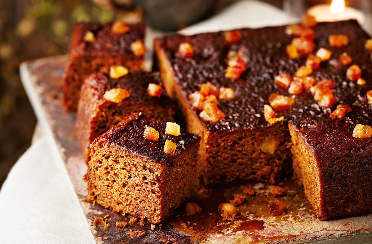 Famous Five Sticky Ginger Cake
