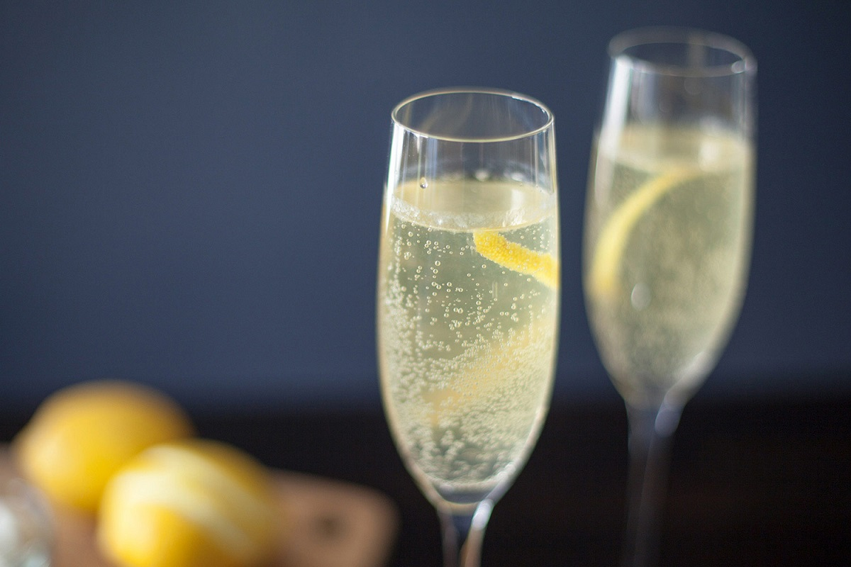 French 75 Cocktail Recipe For When A Glass Of Champagne Just Won't Cut It!