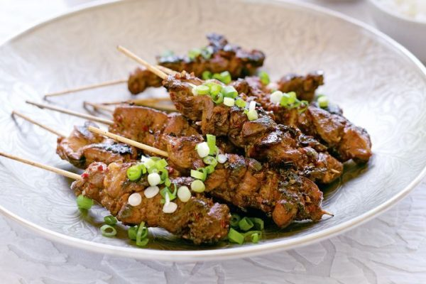 Chicken Lemongrass Skewers Recipe