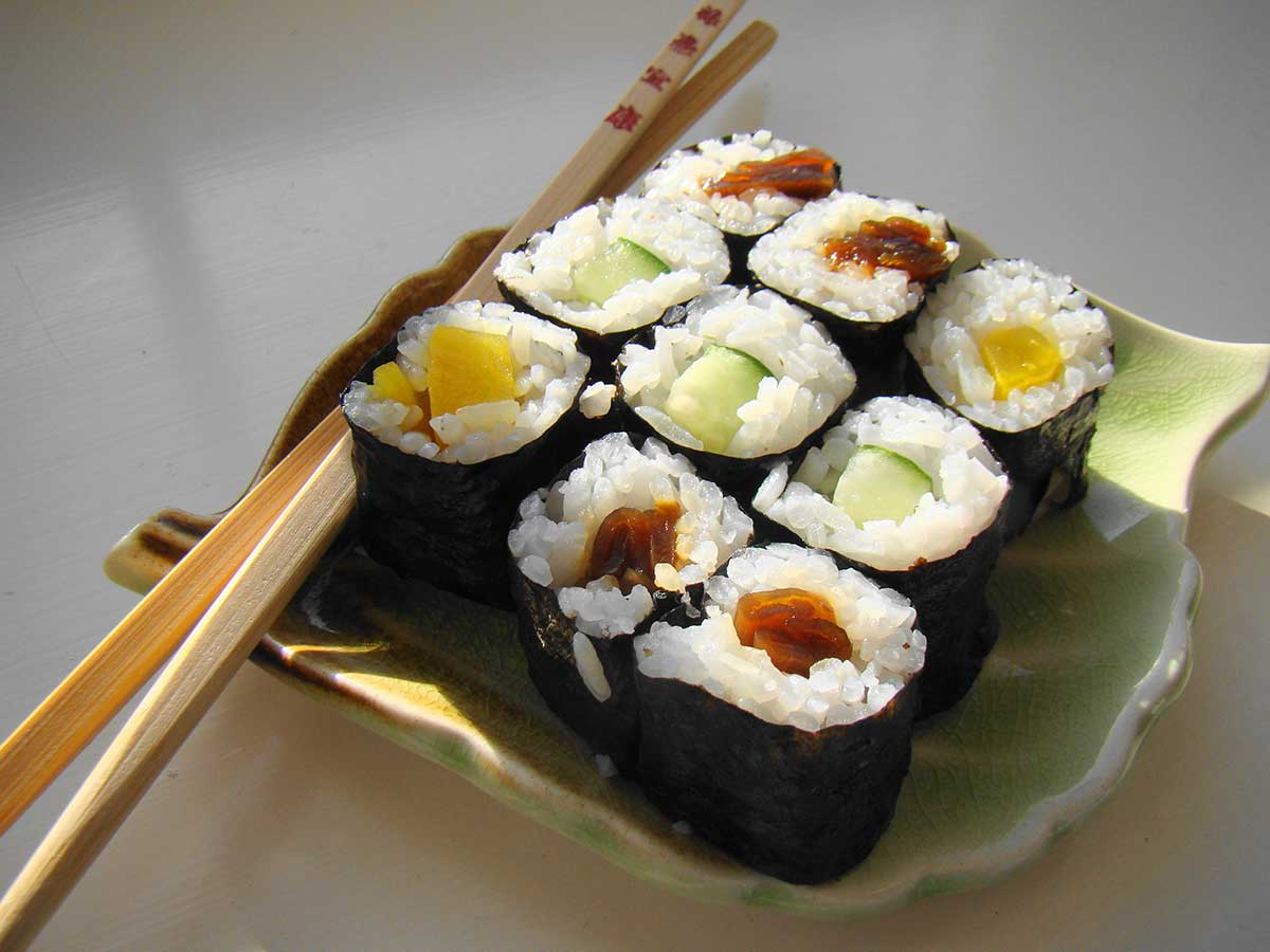 Suits: Sushi Roll Recipe