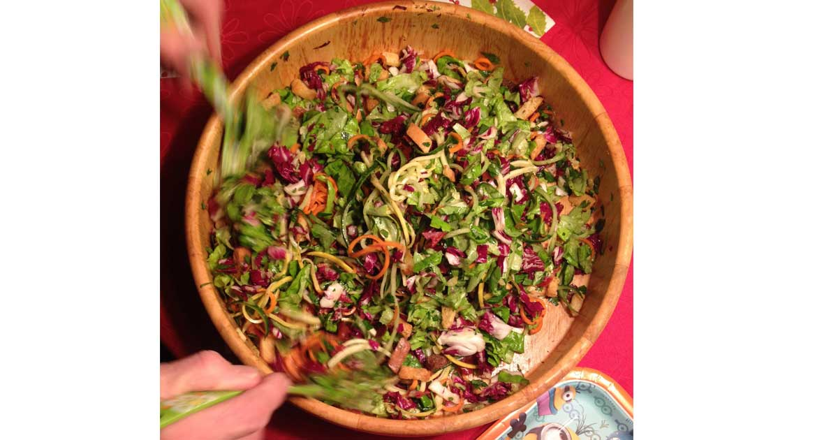 Game Of Thrones: Salad Of Turnip Greens,Red Fennel and Sweet Grass Recipe