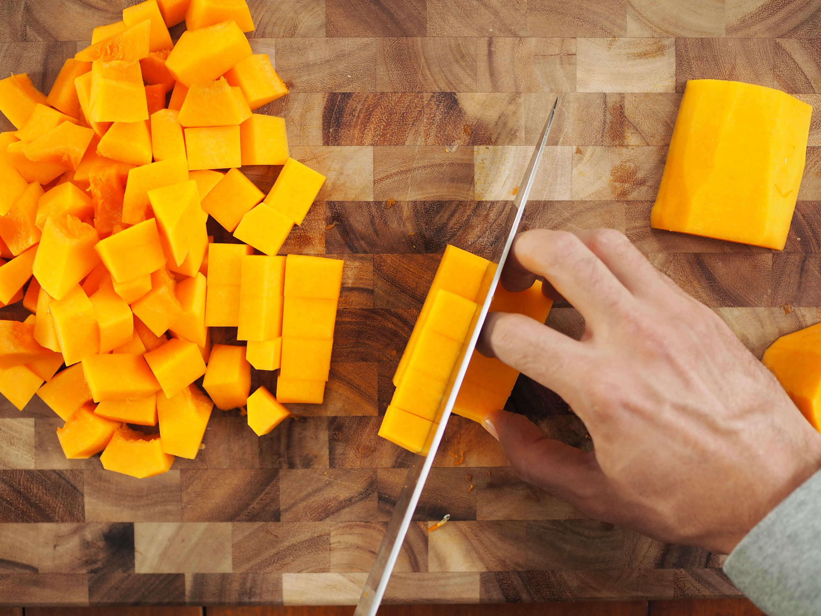 How to Peel and Cut a Butternut Squash?