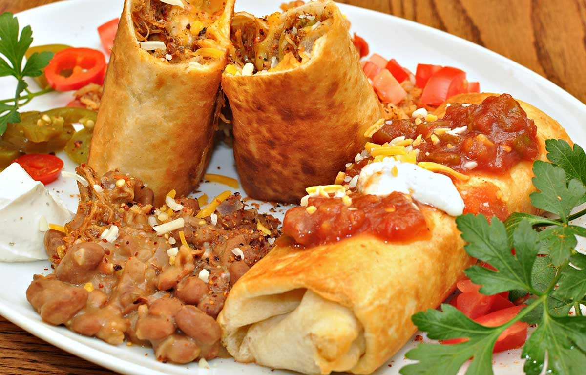 Desperate Housewives Chicken Chimichangas Recipe