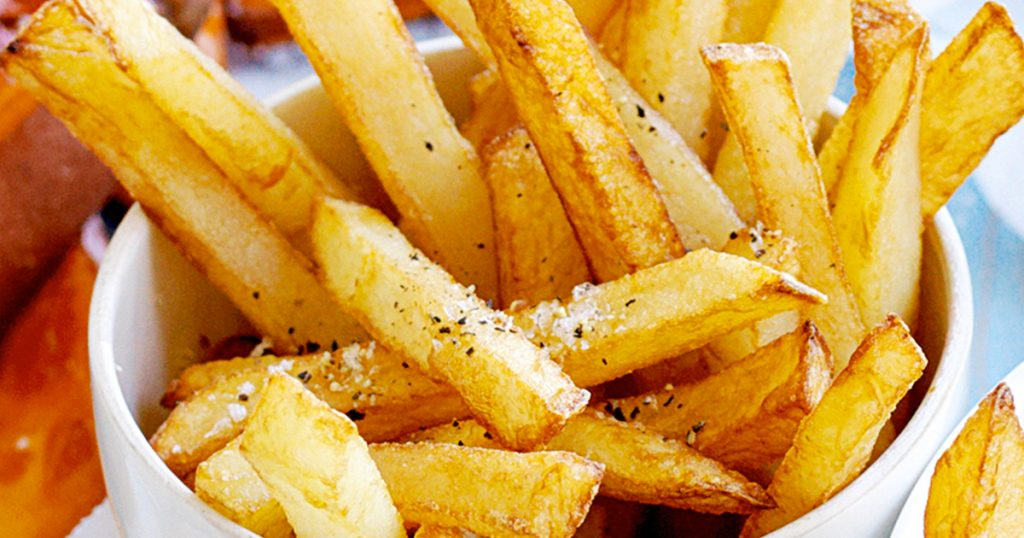 Store Bought Vs. Homemade French Fries