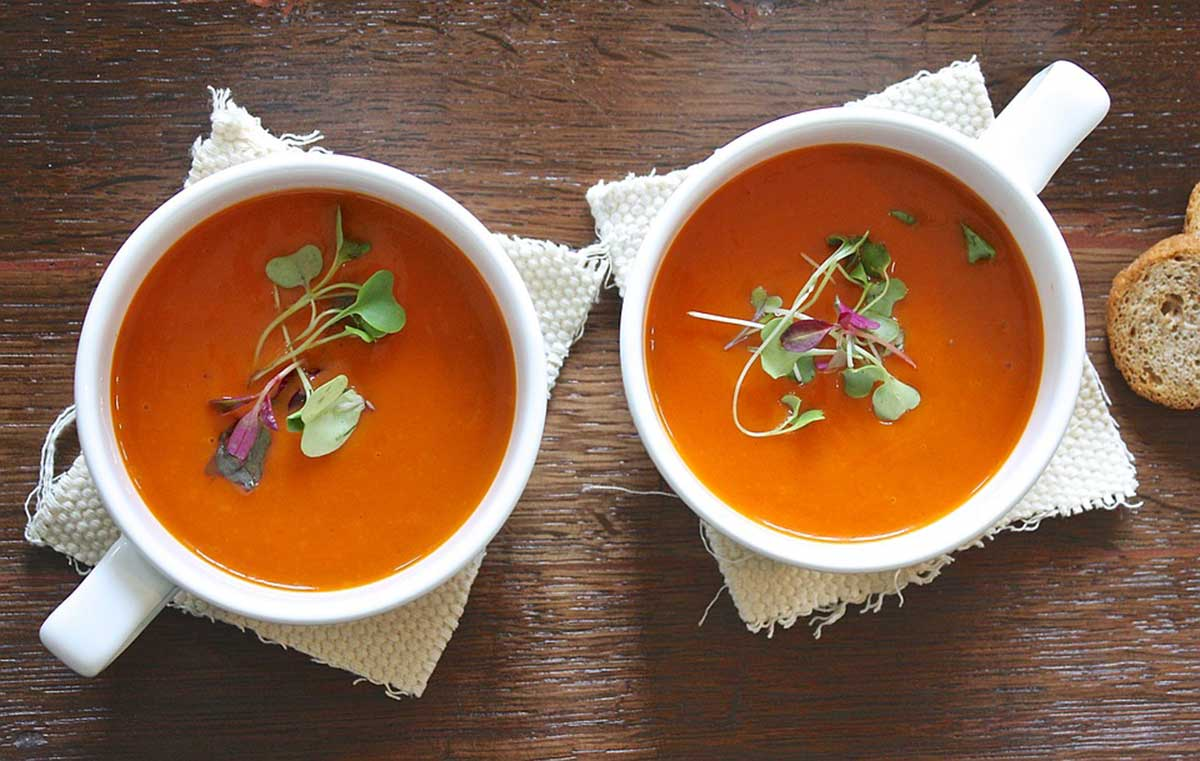 The Big Bang Theory Creamy Tomato Soup Recipe