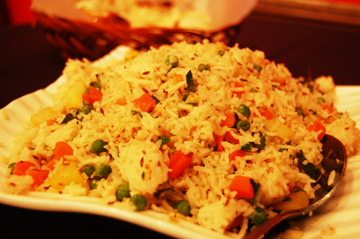 The Lunchbox Simple Pulao Recipe